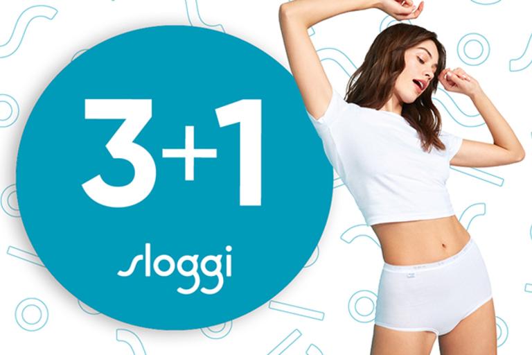 Sloggi : 3 + 1 gratis