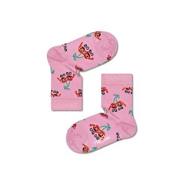 Kousen van het merk Happy Socks in het Roze
